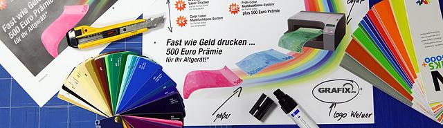 Grafix Unser Leistungsprinzip Copyshop Werbeagentur Und